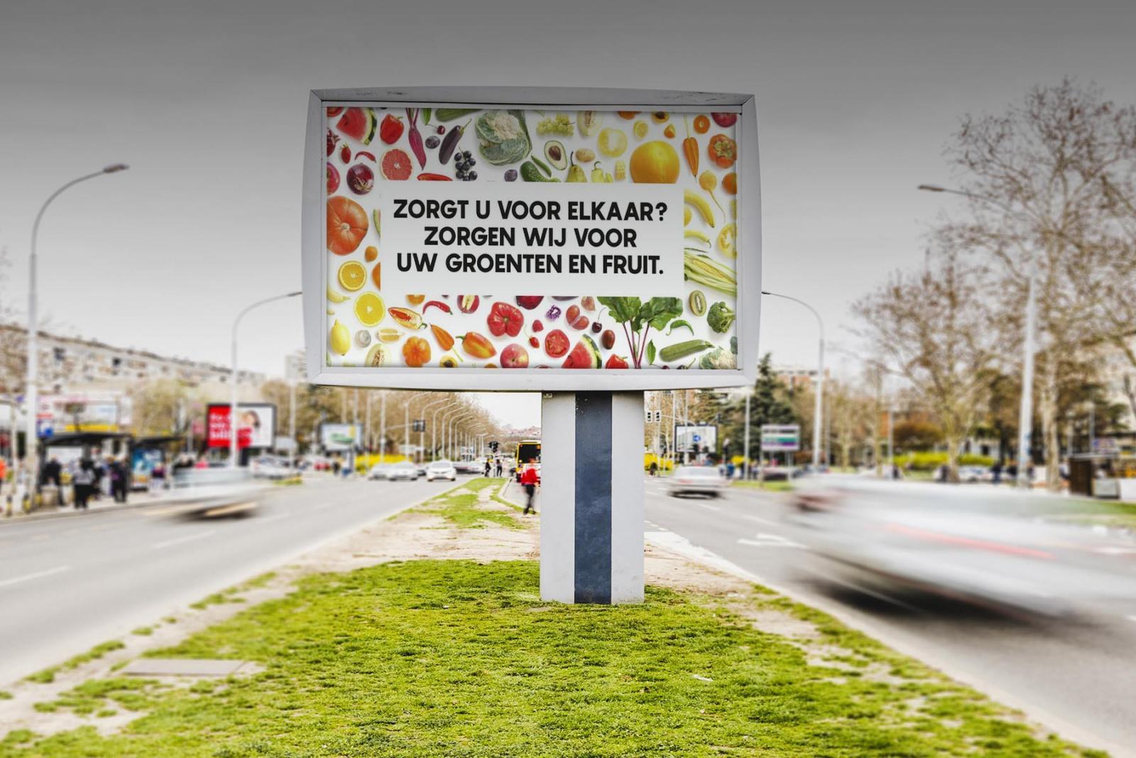 Zorgt u voor elkaar? Zorgen wij voor groenten en fruit!
